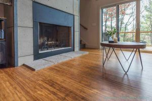 Carbonized Antiqued Click Bamboo Flooring #2