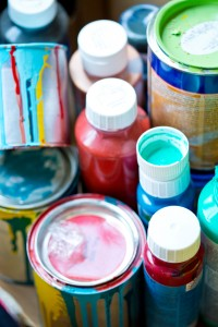 Paint pots, renovation