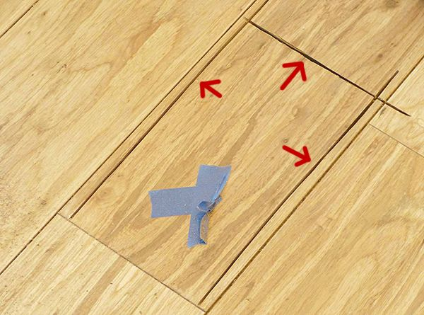 Cut Seams In Flooring Plank
