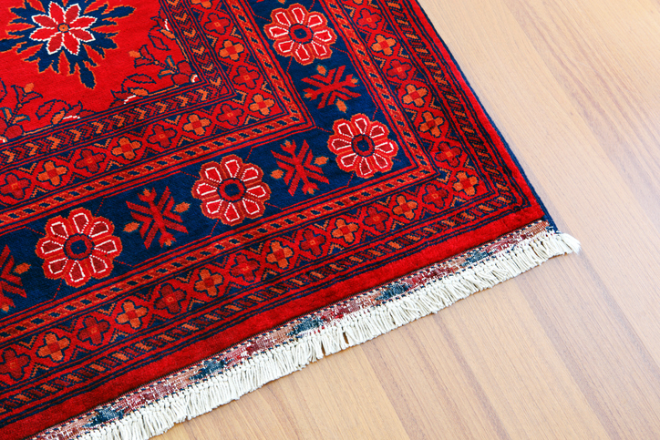 Turkish Carpet in Hardwood