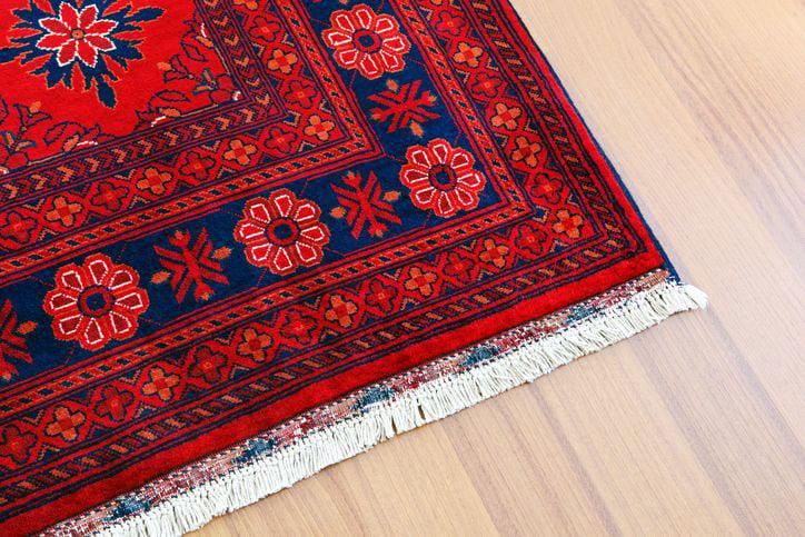 Turkish Carpet in Hardwood