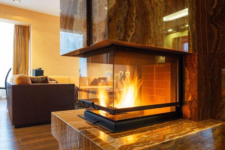 fireplace-modern