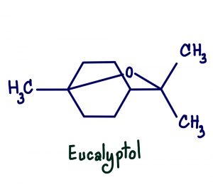 Eucalyptol,Is,A,Natural,Organic,Compound,That,Is,A,Colorless