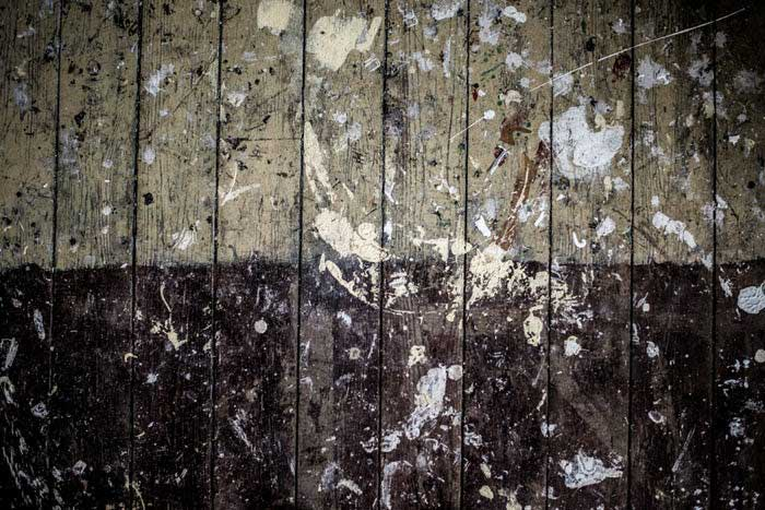 Worn Hardwood Flooring