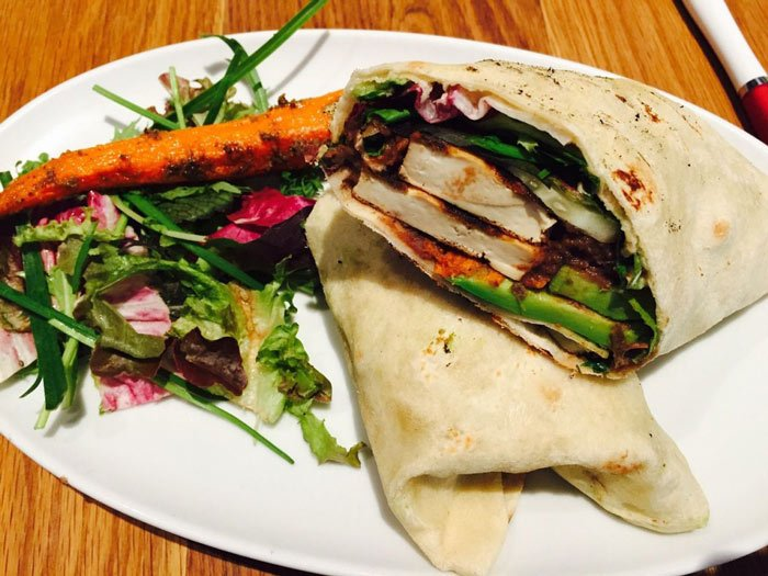 A vegan wrap is more sustainable than a ribeye steak