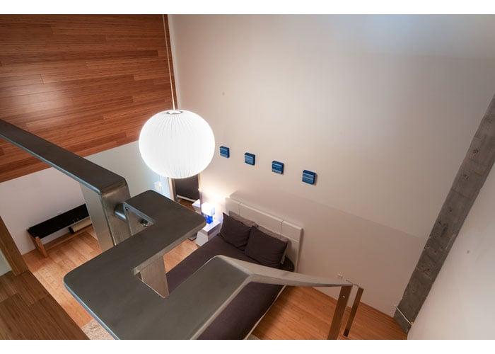 Boston loft conversion with bamboo floor