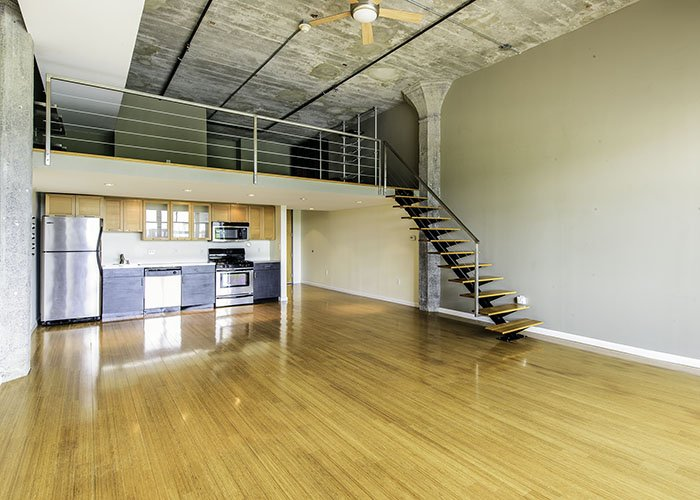 Boston Loft with Bamboo Floor