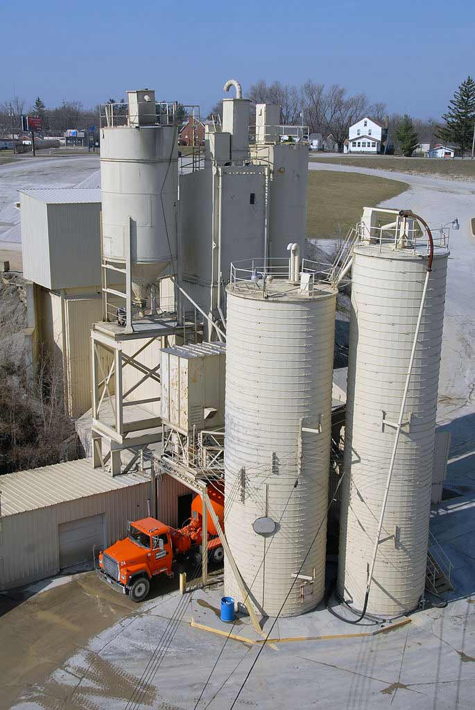 Concrete manufacture creates 5% of the world's greenhouse gasses