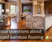 Five Questions about carbonized bamboo flooring