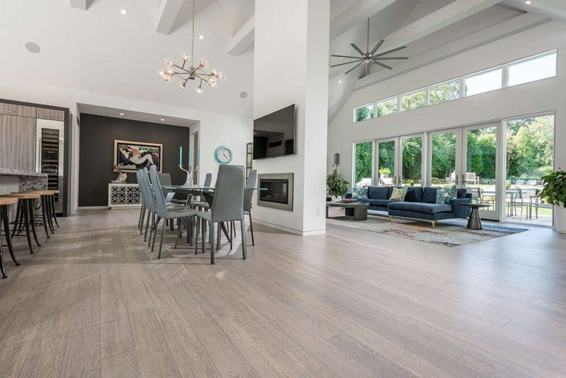 bamboo flooring in home
