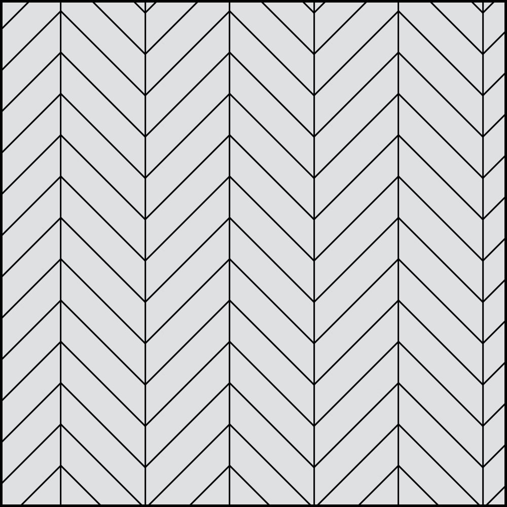 Chevron Plank Pattern Installation