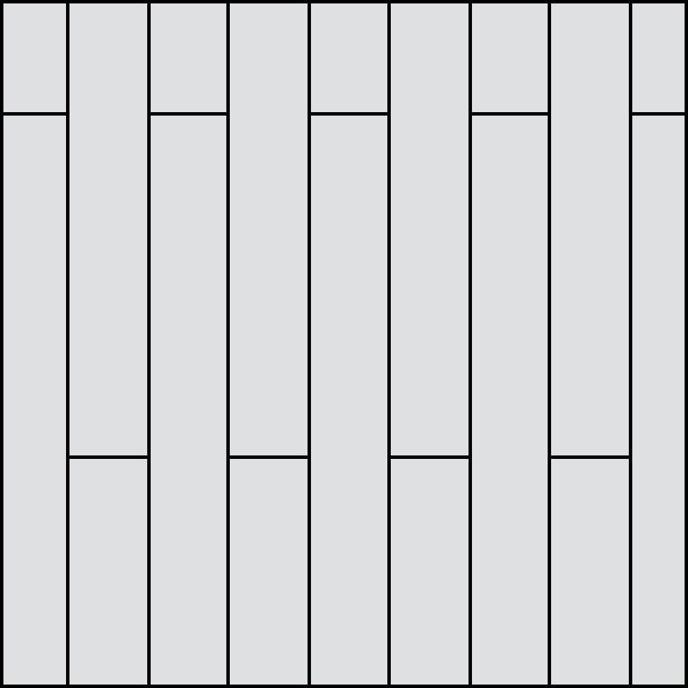 H Plank Pattern
