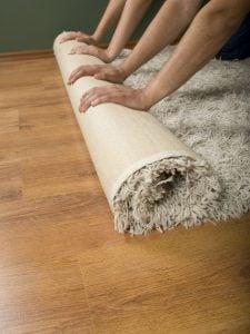 Area Rug Over LVP Flooring
