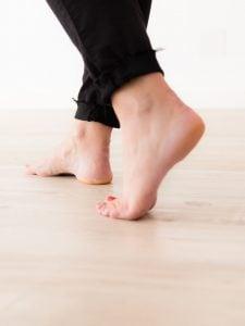 Feeling of LVP Underfoot