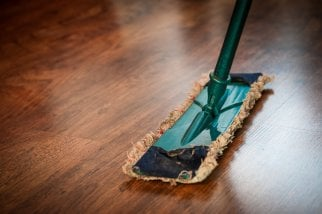 cleaning bamboo flooring