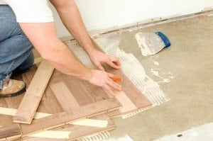 install bamboo flooring over concrete