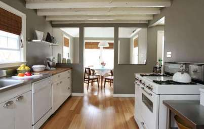 kitchen bamboo flooring