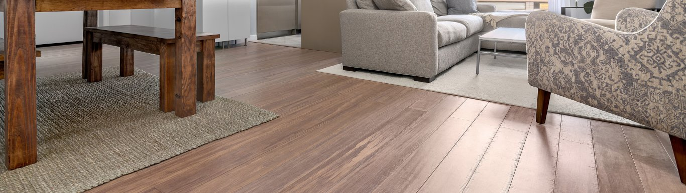 tahoe sawn distressed bamboo floor