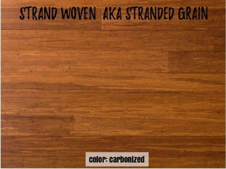 Strand Woven Bamboo Floor