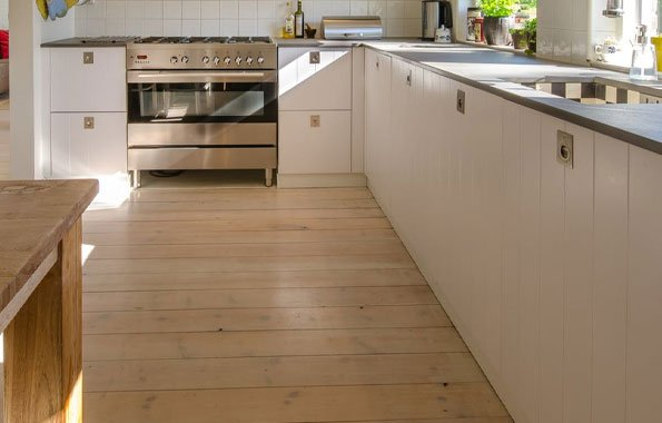 Bamboo Flooring in Kitchens