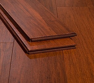cinnamon red cherry highest janka premium bamboo strand floor