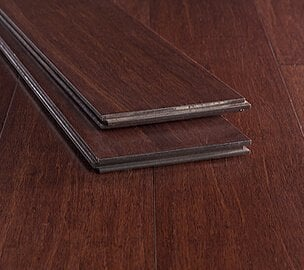espresso wide plank strand bamboo floor