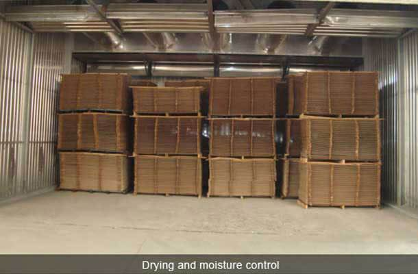 bamboo drying and moisture control
