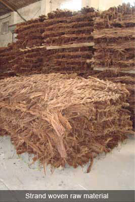 strand woven raw material