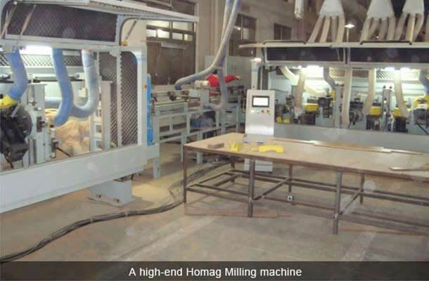 high end homang milling machine