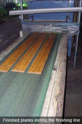 finsihed planks