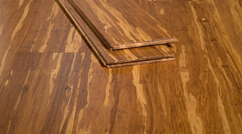 Tiger Marbled Strand Bamboo Flooring