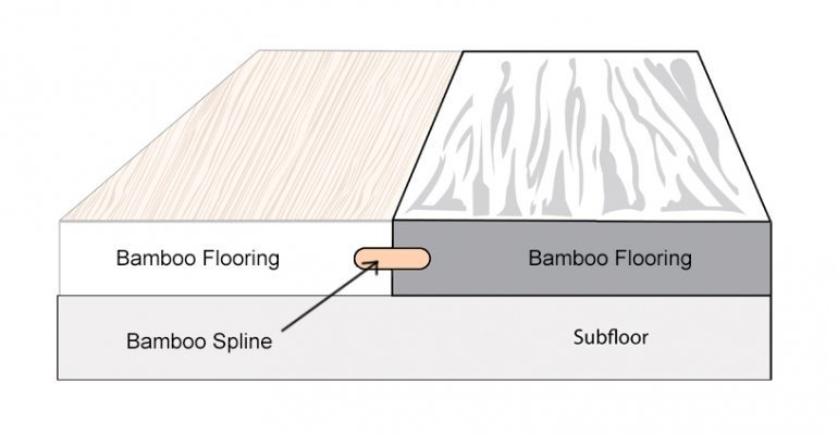 Bamboo Spline Diagram