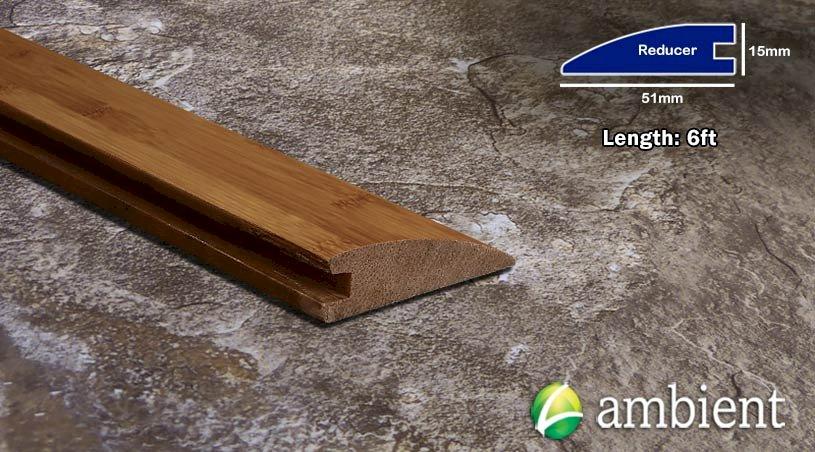 Horizontal Bamboo Reducer Transition Carbonized