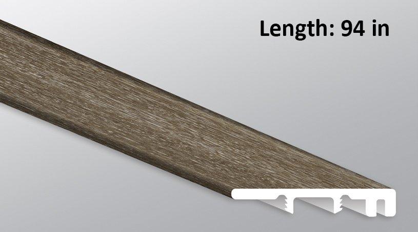 M S I Charcoal Oak Endcap Threshold