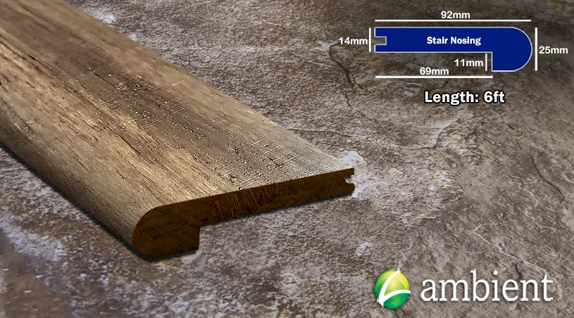 Mesa Antiqued Bamboo Nosing