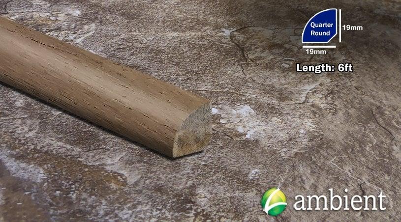 Mesa Antiqued 3/4 thick Bamboo Quarter Round