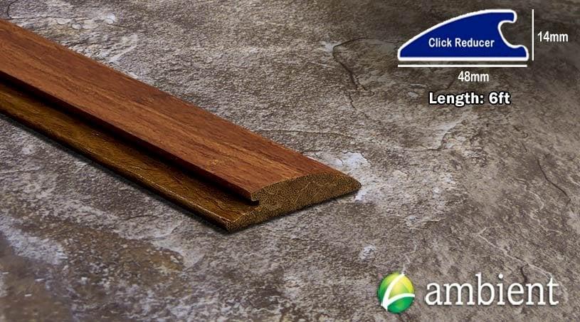 Carbonized Strand Click 9/16 Bamboo Reducer