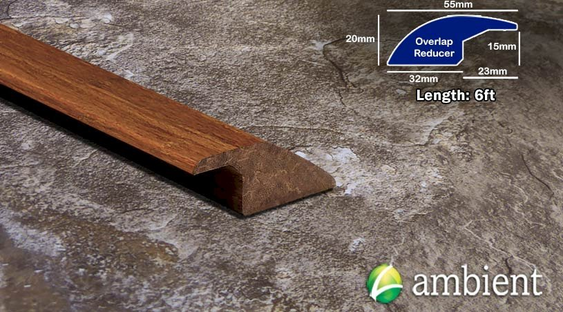 Strand Bamboo Overlap Reducer Solid Carbonized