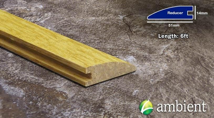 Strand Bamboo Reducer Transition Natural