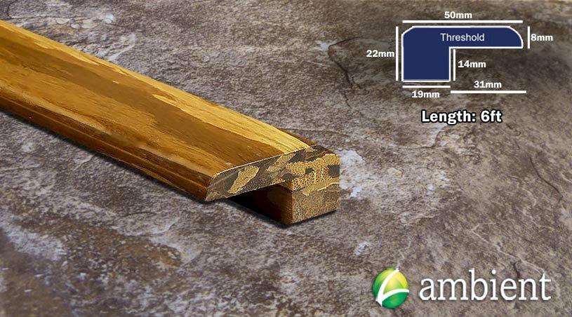 Strand Bamboo Threshold Endcap Tiger R