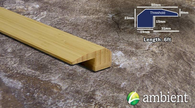 Vertical Bamboo Threshold Endcap Natural