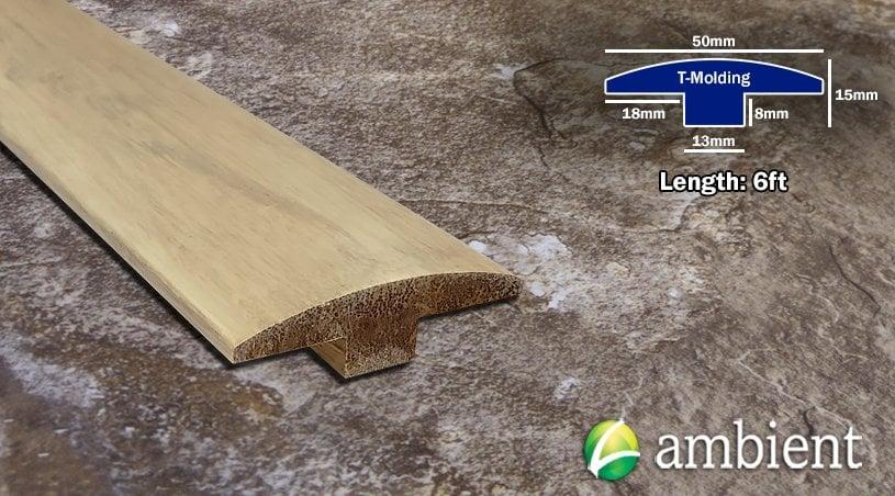 Rustic Kalahari Bamboo T- Molding