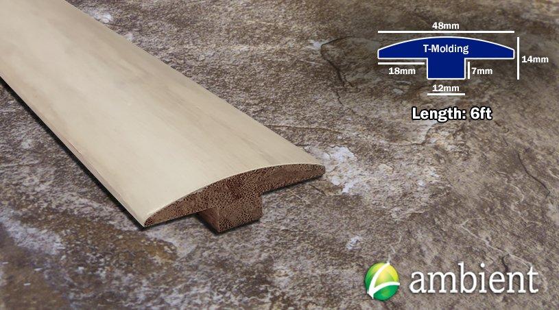 Annapolis White Bamboo T- Molding