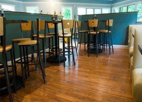 strand woven carbonized restaurant
