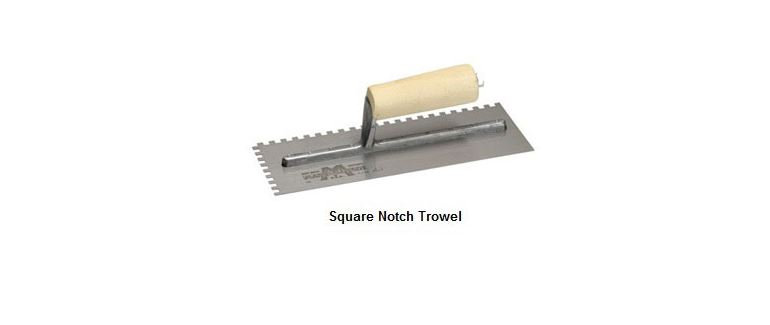 Bamboo Flooring Adhesive Square Trowel