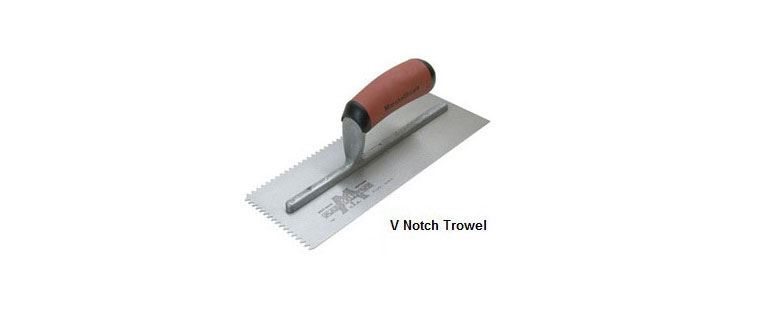 Hardwood Flooring Glue V Notch Trowel