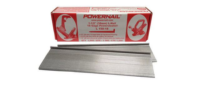 Powernail Cleatsfor Bamboo Flooring Nail Down Installation