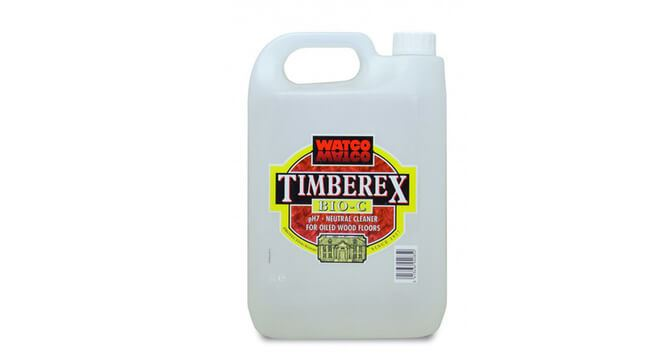 Timberex Bio C Cleaner Hardwax Bamboo Flooring