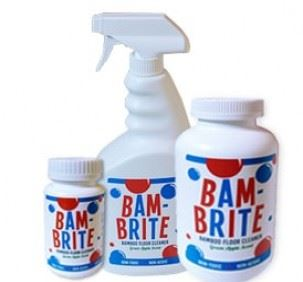 Bamboo Floor Cleaner Bam Brite Easy To Use Spray