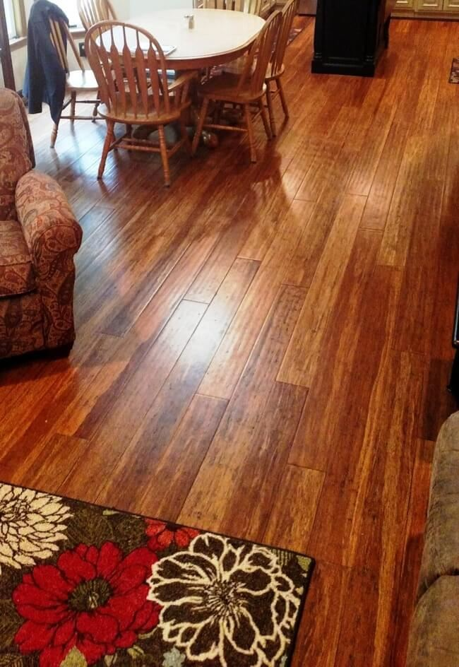 Strand woven eucalyptus images home design idea for Can you change the color of bamboo flooring